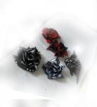 Rose Earrings and Bite My HeartPendant