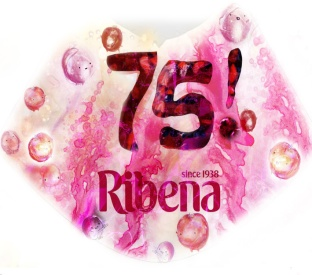 Ribena Label - 75th Anniversary edition