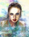 Swimming Portrait