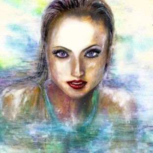 Swimming Portrait