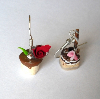 petit four drop earrings