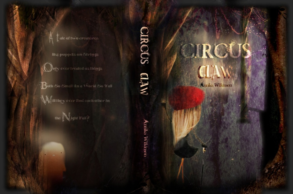 book cover CIRCUS CLAW